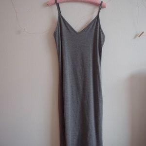 Grey Body Tight Dress